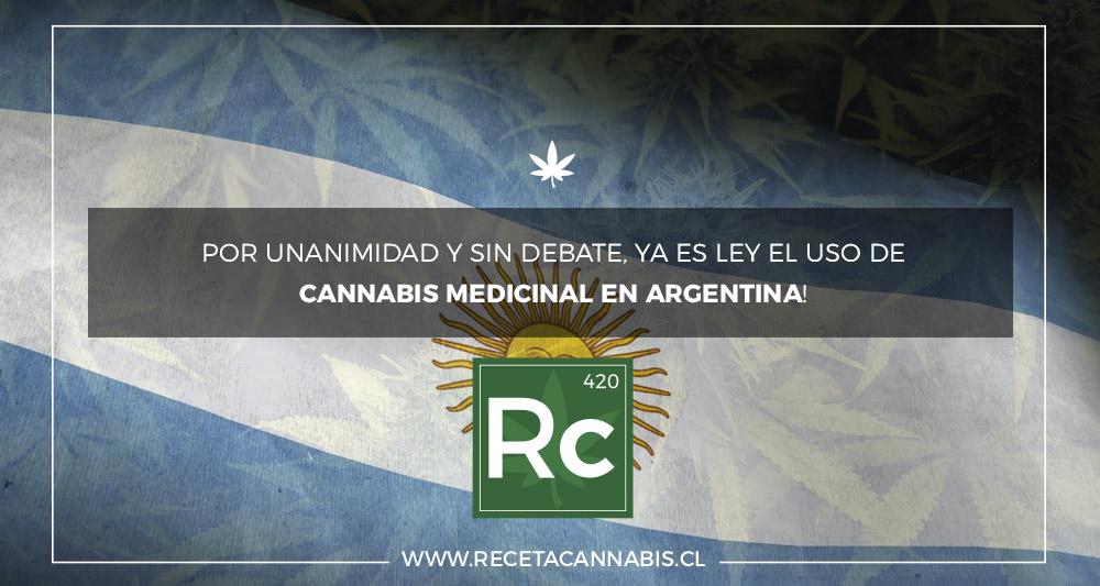 Cannabis Medicinal Legal en Argentina